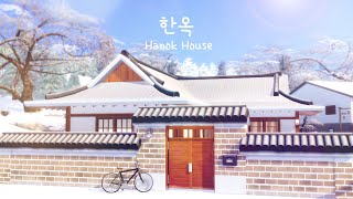 Hanok House 한옥 a Traditional Korean Home 🇰🇷 🏠 | The Sims 4 | Speed Build | No CC + Download Links