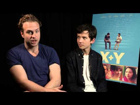 X+Y - Rafe Spall and Asa Butterfield interview
