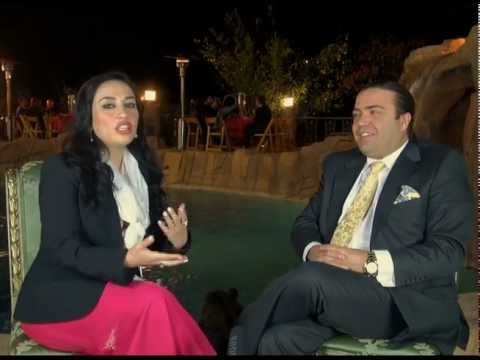 NAAB JEWELRY MANAGEMENT'S  INTERVIEW WITH LIVE CHANNEL, NAAB TV, IRAN, NOWROZ 1391