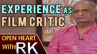 Film Historian VAK Ranga Rao about worked as Film Critic | Open Heart With RK