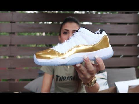 Jordan 11 Closing Ceremony Nike Unboxing