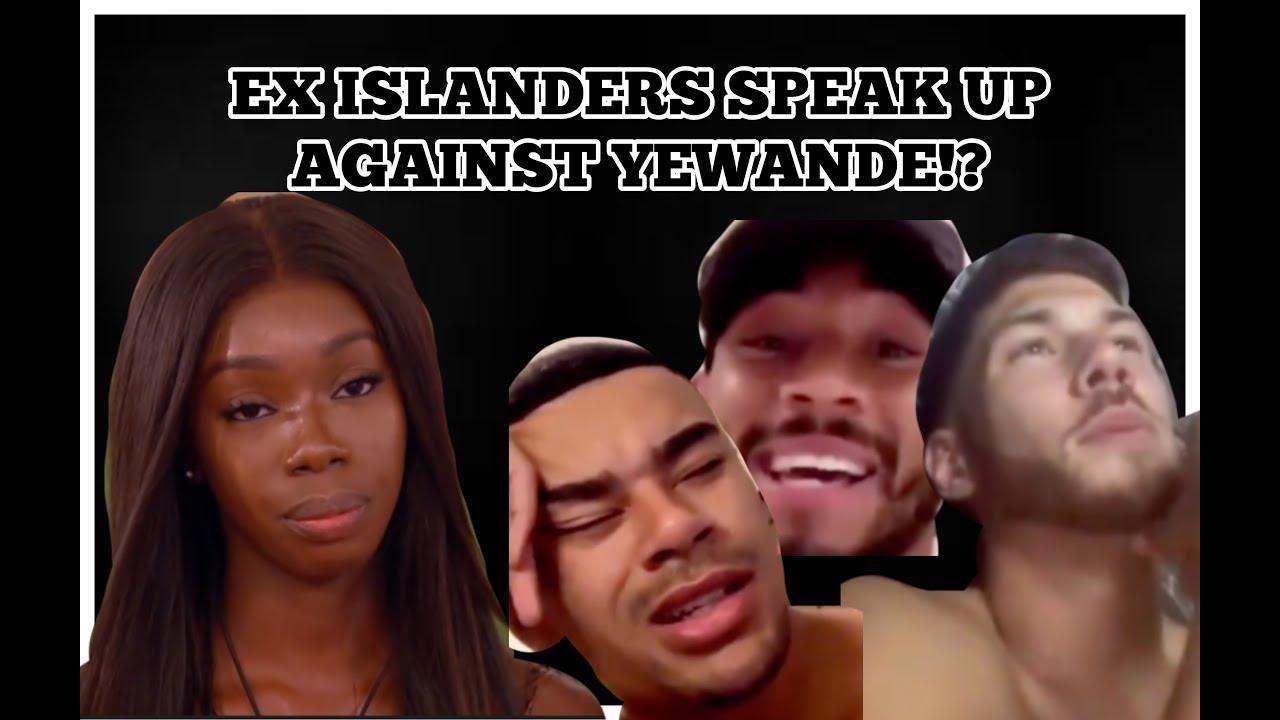 LOVE ISLAND : EX ISLANDERS SPEAK UP AGAINST YEWANDE