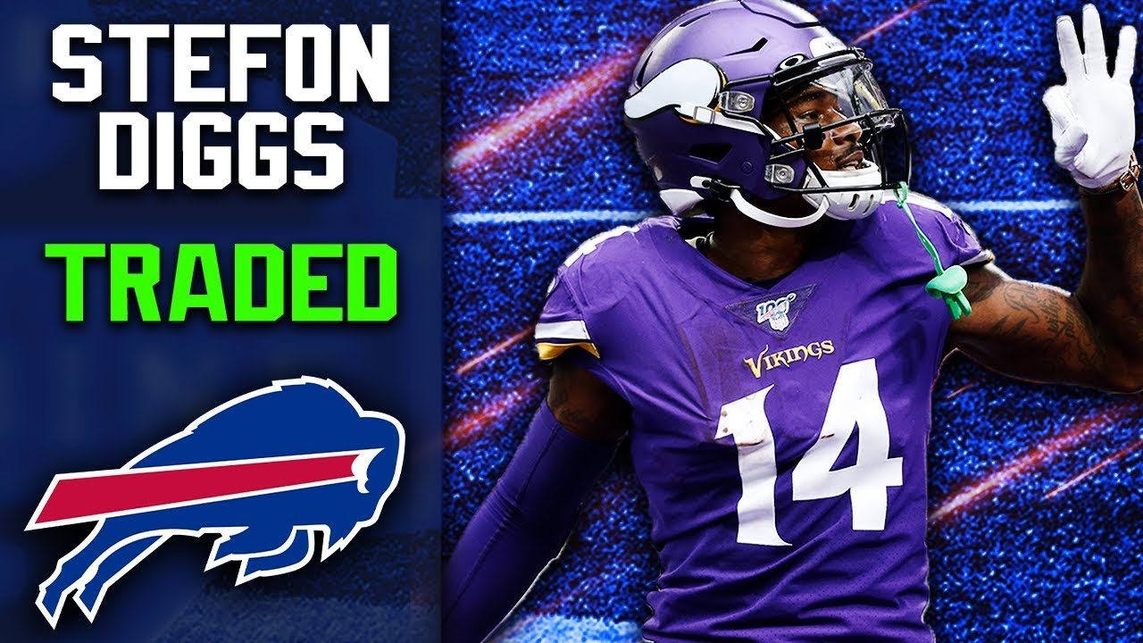 Vikings trade Stefon Diggs to Buffalo