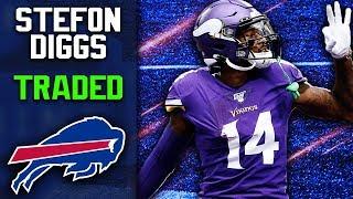 Minnesota Vikings Trade Stefon Diggs to Buffalo Bills!