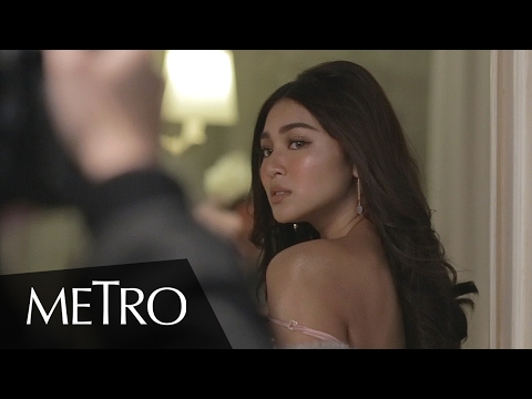 Metro Exclusive: See What Went Down During Nadine Lustre's Perfume Line Campaign Shoot #Luster
