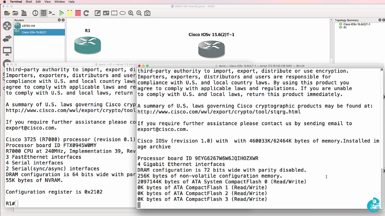 GNS3 Talks: IOSv Appliance - get IOS 15 X on GNS3