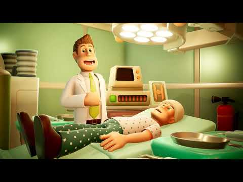 I SAW HER BUTT! | TWO POINT HOSPITAL GAMEPLAY!