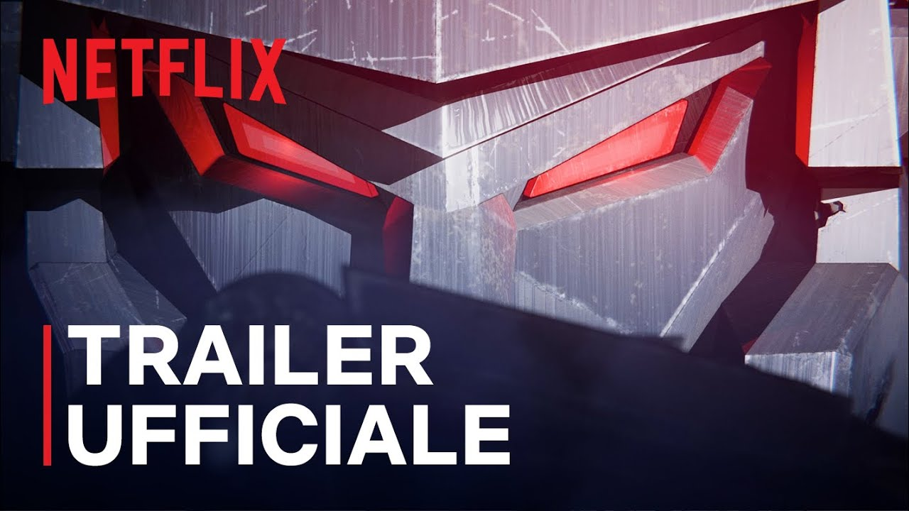 Transformers: War For Cybertron Trilogy - L'assedio | Trailer ufficiale | Netflix