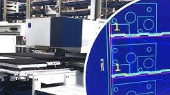 Trumpf TruMatic 7000 K08 programmiert mit WiCAM - CAD/CAM Softwarelösung