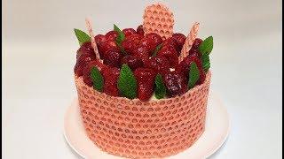 ТОРТ КЛУБНИЧНЫЙ  БАРХАТ (strawberry cake)