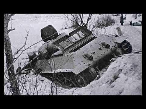 Подбитые советские танки