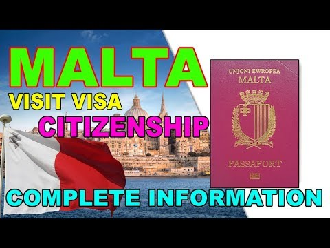 Malta Visit Visa [ Business Visa ] [ Citizenship ] in Urdu / Hindi 2018 By Premier Visa Consultancy