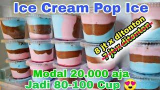 IDE BISNIS || Cara Membuat Ice Cream Pop Ice Home Made MP3