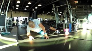 Side of Hip (TFL) Foam Roll (Self Myofascial Release) Self Massage
