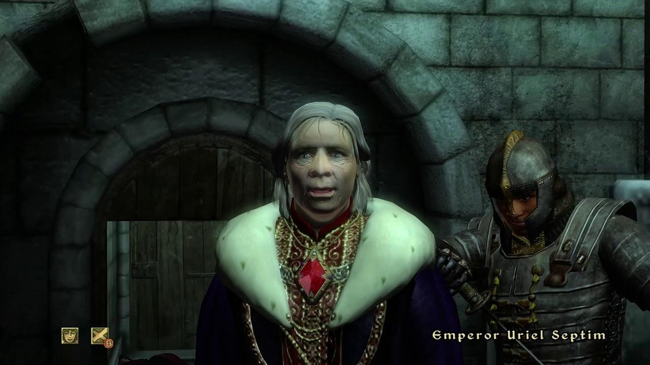 The elder scrolls iv: oblivion cover ita cover videogiochi.