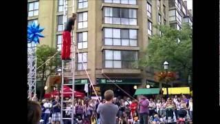 Buskerfest 2011: Red Trouser Show Part 1