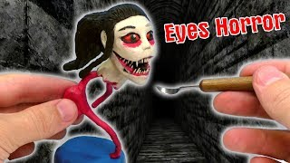 ЛЕПИМ КРЕЙСИ из игры Eyes The Horror Game | Plasticine Tutorial