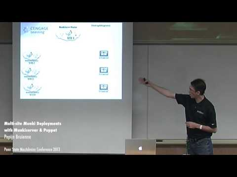 Multi-site Munki Deployments with Munkiserver and Puppet - Pepijn Bruienne