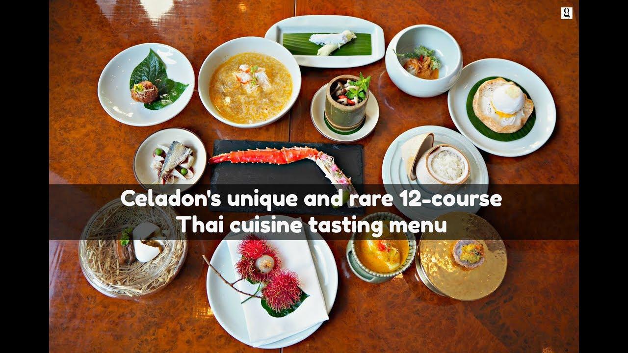 Celadon Journey   Authentic, Rare 12 Course Thai Cuisine Tasting Menu