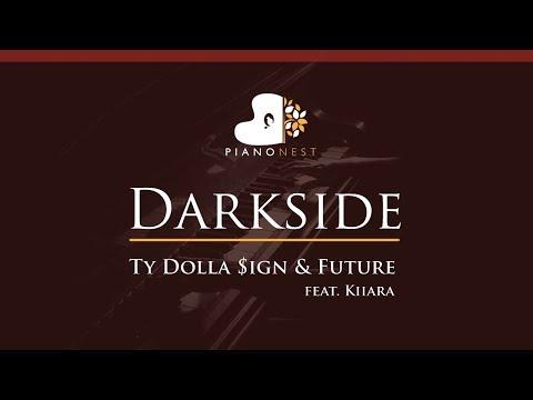 Ty Dolla $ign & Future - Darkside (feat. Kiiara) - HIGHER Key (Piano Karaoke / Sing Along)