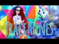 DIY - How to Make: TraciJHines Hipster Mermaid Custom Doll   Ombre Hair   Graphic Tee & More