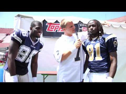 "NFL Rookie Premiere Free-Style Rap Off - ""with the T-pain app"""