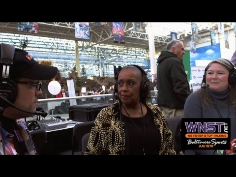 Baltimore's Sylvia Mackey joins Nestor on Radio Row in Minnesota Super Bowl 52