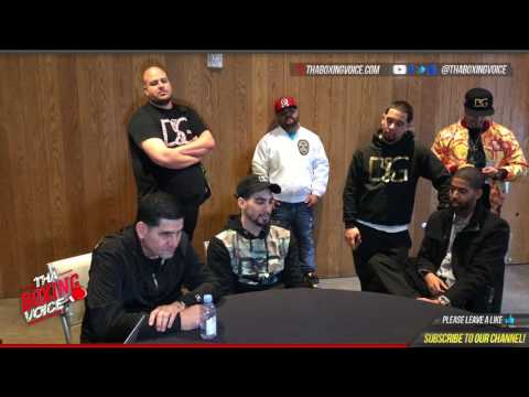 Behind The Scenes POV Keith Thurman vs  Danny Garcia NYC Press Conference