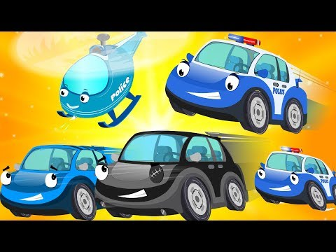 Bob The Police car chase Bad Thief car  Super Cars & Big Truck for Kids  Children Cartoon