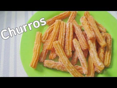 Homemade Churros Recipe