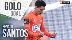 Renato Santos: Grande remate de fora da área!