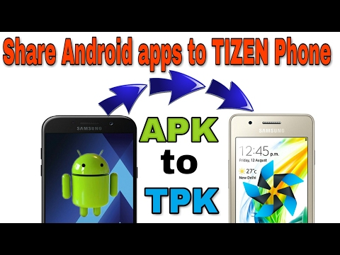 How to share app from Android to Tizen (Hindi)