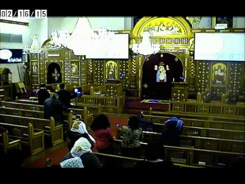 Prayer Meeting For The 21 Coptic christian martyrs of Libya - Feb 16,2015
