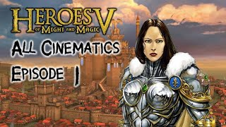 Heroes of Might and Magic 5 ALL Cinematics - Part 1: Haven Campaign