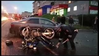 В Первоуральске мотоциклист погиб в ДТП