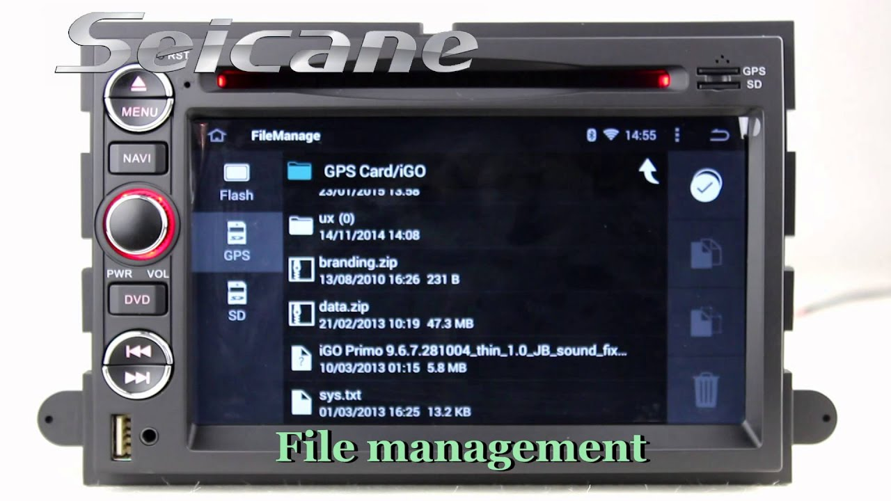 Quad core Android 4 4 2007 2010 Ford Expedition GPS CD DVD player     Quad core Android 4 4 2007 2010 Ford Expedition GPS CD DVD player with 3D  MAP HD touch screen