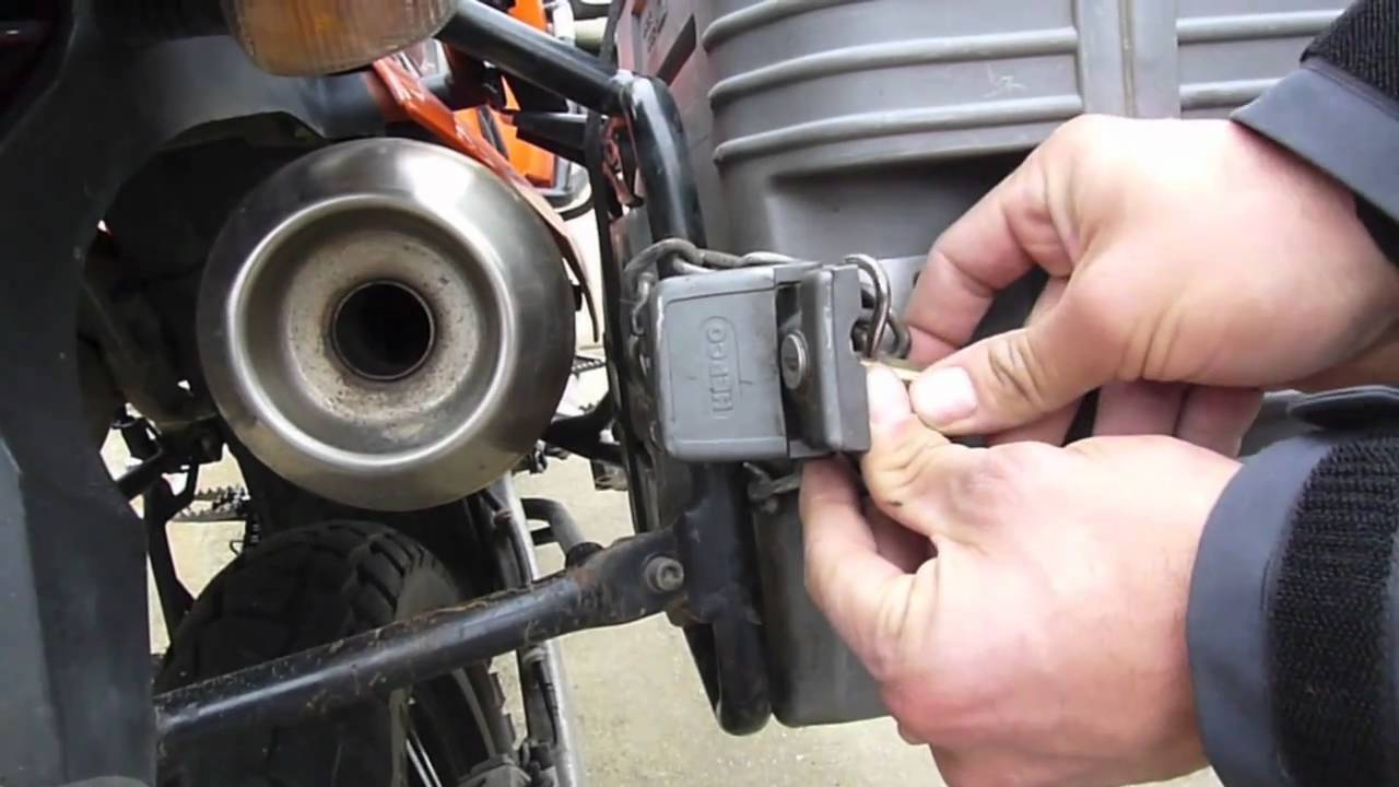 Fixing The Hepco Amp Becker Sidecase After A Motorcycle Crash Youtube