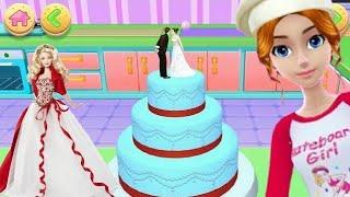 barbie birthday cake/barbie doll cake children's cakes/barbie birth...