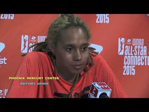 MAYA MOORE & BRITTNEY GRINER PRESS CONFERENCE