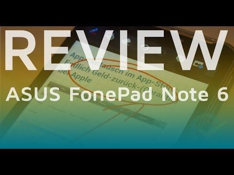 Test: ASUS FonePad Note 6 | deutsch 📹 techloupe
