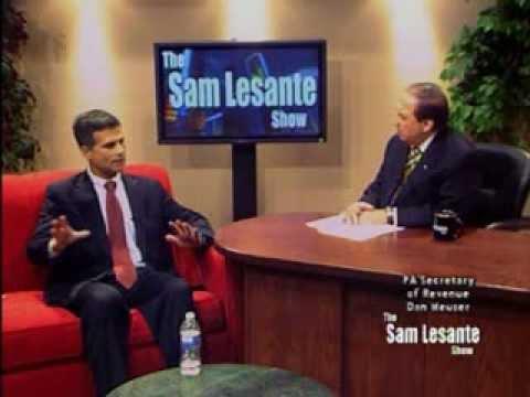 The Sam Lesante Show - PA Secretary of Revenue Dan Meuser