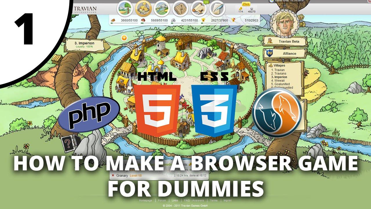 browsergame maker