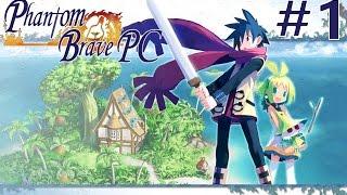 Phantom Brave PC - Walkthrough | Part 1 [English, Full 1080p HD, 60 FPS]