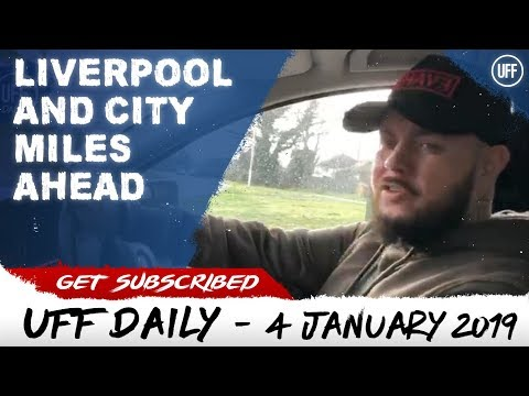 LIVERPOOL AND CITY ARE MILES APART! | UFF Daily
