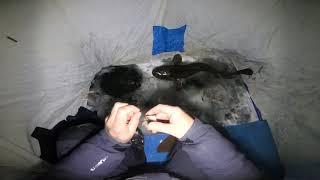 Зимняя Рыбалка.Смена тактики.)))