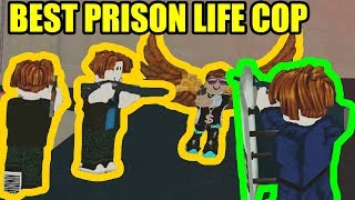 BEST BACON HAIR COP | Roblox Prison Life