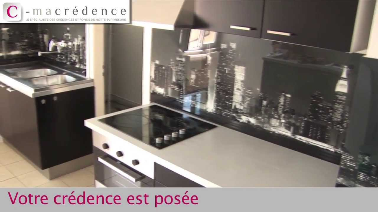 Pose de plusieurs cr dences cmacr dence youtube for Credence de hotte