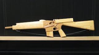 [rubber Band Gun] Blowback M16a1