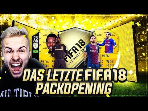 FIFA 18: Das LETZTE Pack Opening 😱🔥