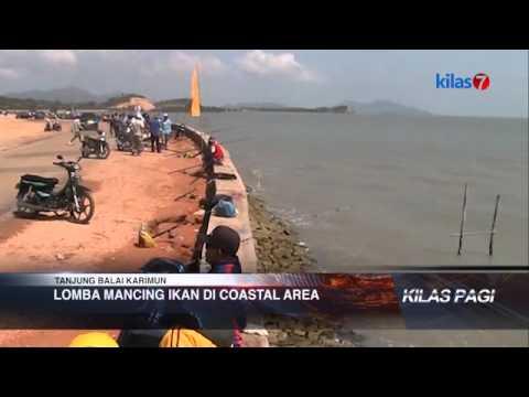 Kilas7 TV Batam - Lomba Mancing Ikan di Coastal Area